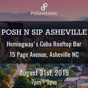 Posh N Sip Other - Join Us! Posh N Sip Asheville: 8/31/19